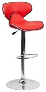 mid back adjustable bar stool contemporary bar stools and counter