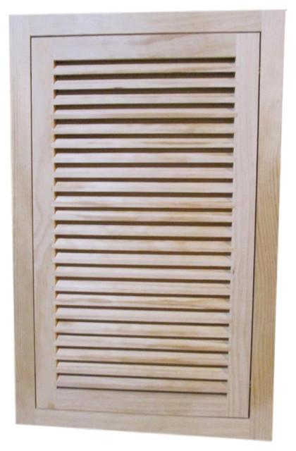 Wood Return Air Filter Grille, 16x25, Ogee Edge.