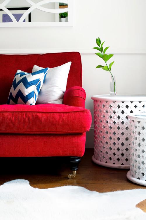 Cuscini Per Divano Rosso.Quali Colori Stanno Bene Dietro Al Divano Rosso 8 Idee Da Houzz