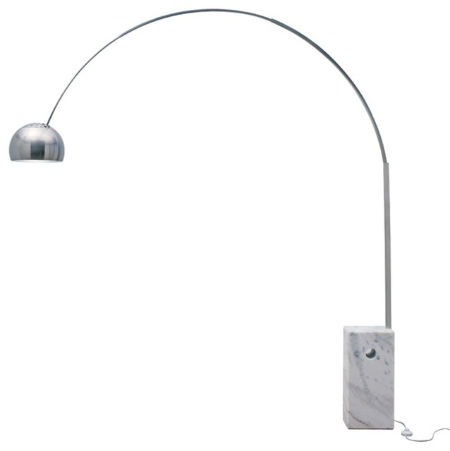 Contemporary Contour Flex Led Reading Floor Lamp, Dimmable, Full Spectrum Light