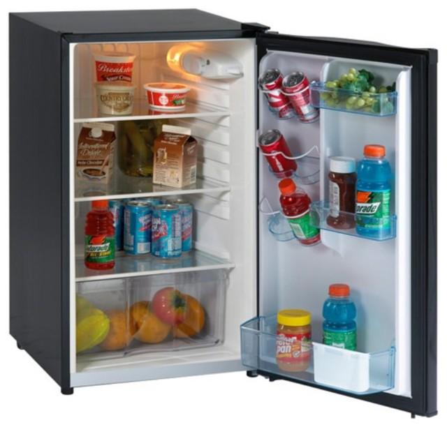 20 Freestanding Compact Refrigerator, Black.