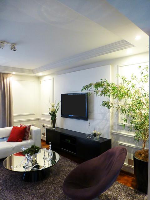 cerqueira cesar apartment contemporary-living-room