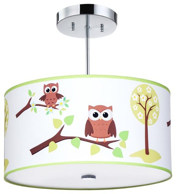 Owl light fixture contemporary kids ceiling lighting by owl light fixture contemporary kids ceiling lighting aloadofball Gallery