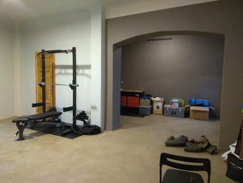 Multifunctional fitness studio - interior layout and design ideas