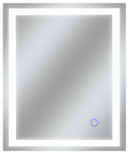 "Bathroom LED Mirror With Touch On/Off Dimmer and Anti-Fog, 36""x30"" [2019 New Tri"