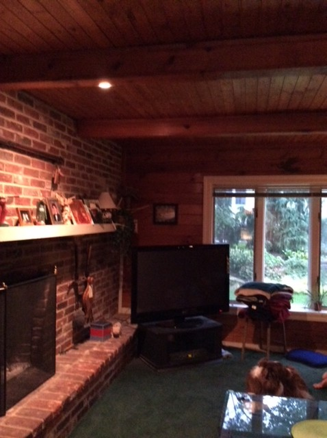 Haddon Township, NJ Knotty Pine Project