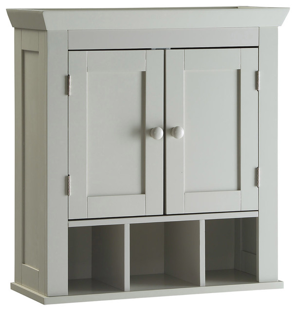 shop houzz 4d concepts rancho wall cabinet bathroom
