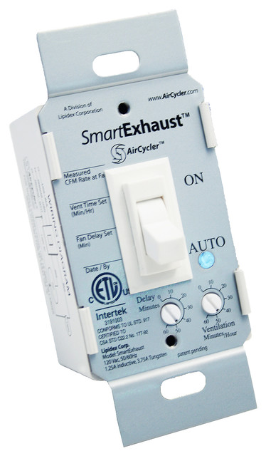 Smartexhaust Fan Delay Timer Amp Light Switch Almond Toggle