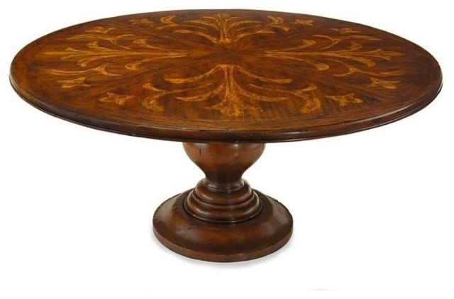 John Richard Eur 10 0005 Tuscan Villa Round Dining Table