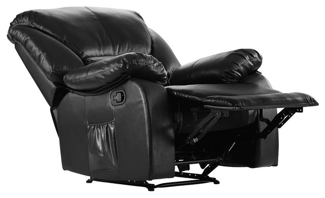 Stupendous Full Body Pu Leather Massage Recliner Chair Black Ncnpc Chair Design For Home Ncnpcorg