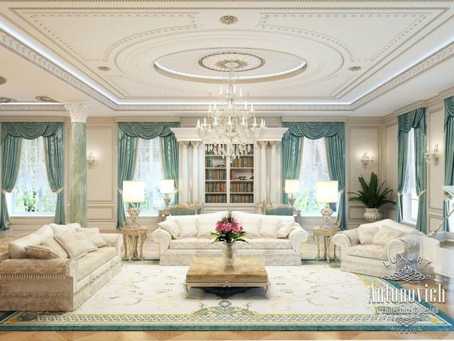 Arabic Majlis From Luxury Antonovich Design
