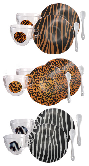 Safari 18-Piece Coffee Set