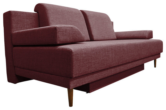 Movie sleeper sofa midcentury sleeper sofas by for Bella berry chaise