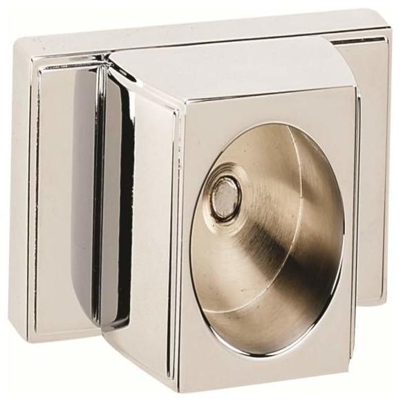 Alno Shower Rod Brackets Chrome - Traditional - Shower Curtain ...