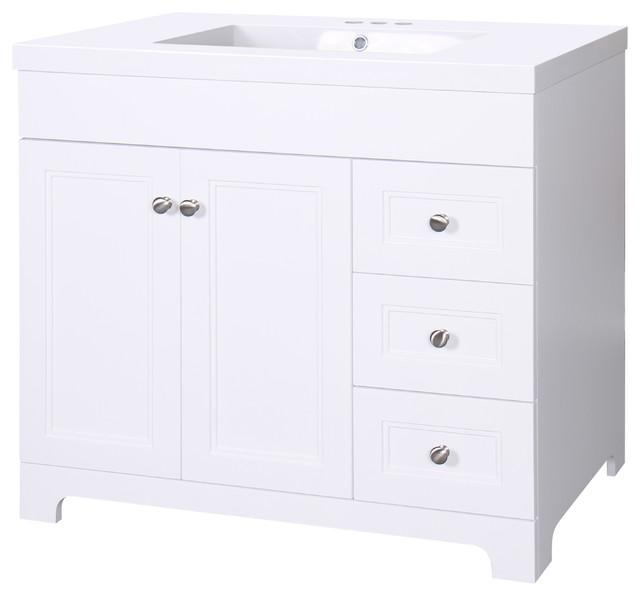 Jano Shaker Series 36 Bathroom Vanity Contemporary Bathroom