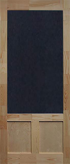 """Elmwood Wood Screen Door, 1.38""""""""x36""""x80""""."""