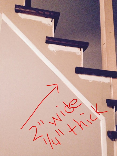 Is This Called Stair Trim Moulding, Casing Or Shoe Moulding?