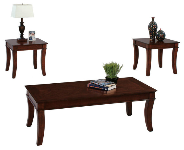 P304 95 Cocktail Table And 2 End Tables 3 Piece Coffee Table Sets By Hedgeapple