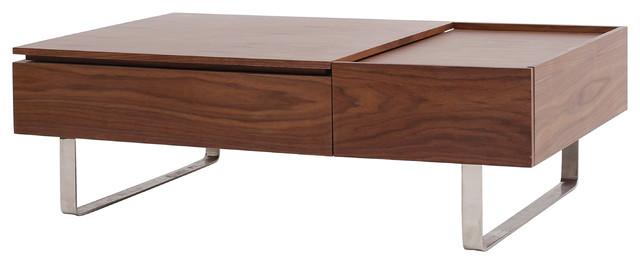 Denzel Lift Top Rectangular Coffee Table Scandinavian Coffee