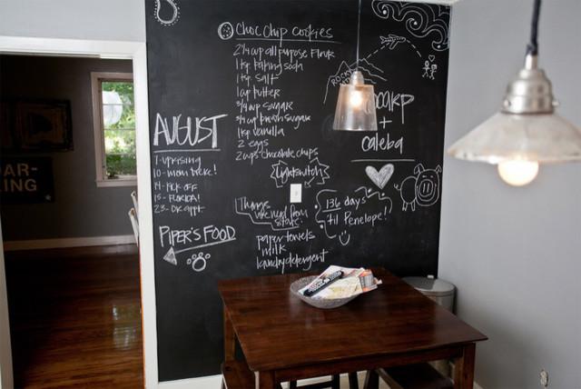 Awesome Blackboard In Kitchen Modern