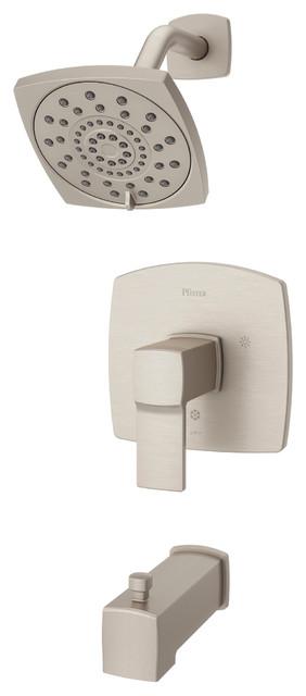 Pfister LG89-8DA Deckard Tub and Shower Trim Package, Brushed Nickel