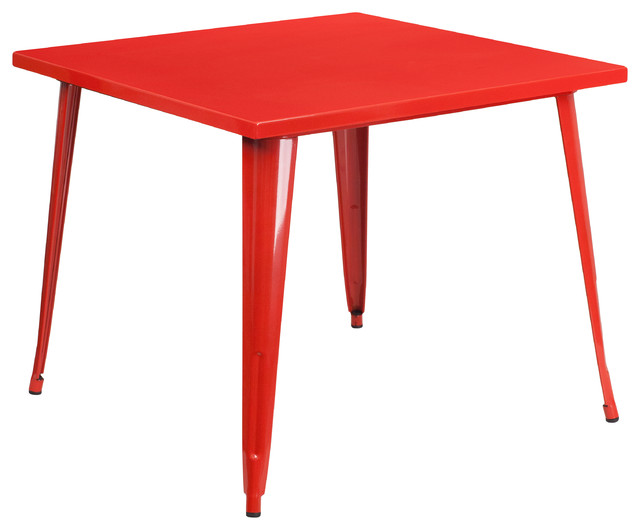 Wimbolt Square Indoor/outdoor Table, Red.