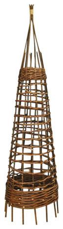 Gardman Rustic Willow Garden Obelisk, 150 cm