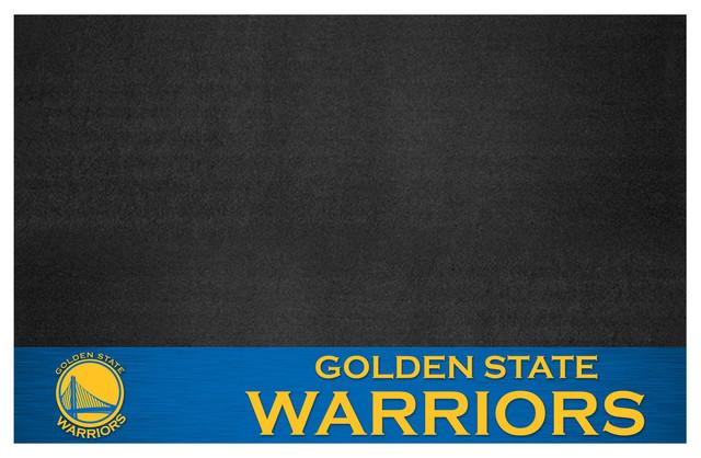 """Nba Golden State Warriors Grill Mat 26""""x42""""."""