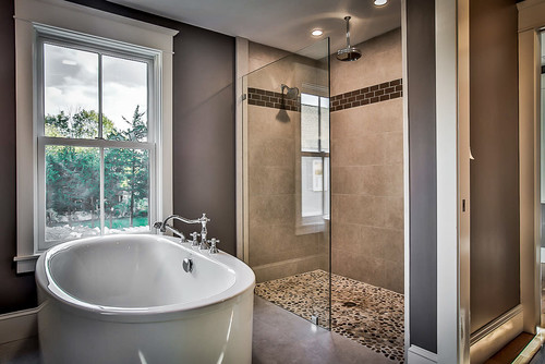 Our Custom Master Bath At Our Build On Oak St!
