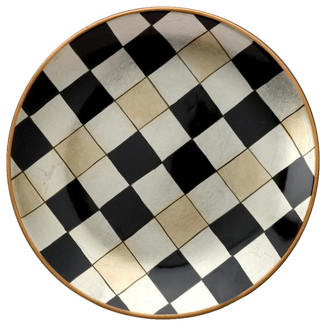 Checkered Plate  sc 1 st  Houzz & Checkered Plate - Contemporary - Charger Plates - by ShopLadder