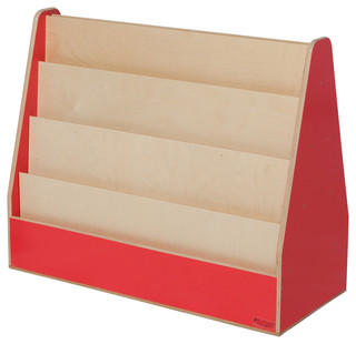 Double Sided Book Display - Transitional - Kids Bookcases - by Wood ...
