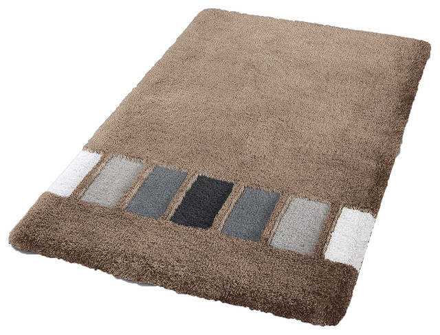 cashmere modern non slip washable bathroom rug jazz contemporary bath mats by vita futura. Black Bedroom Furniture Sets. Home Design Ideas
