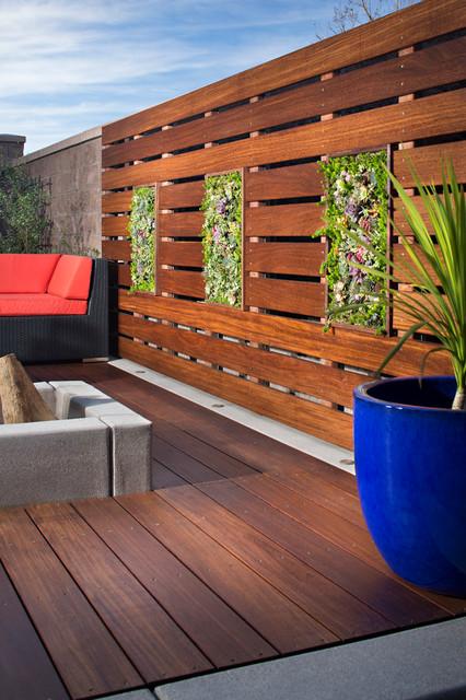 Zurich residence/Chula Vista - Contemporary - Landscape - San Diego ...