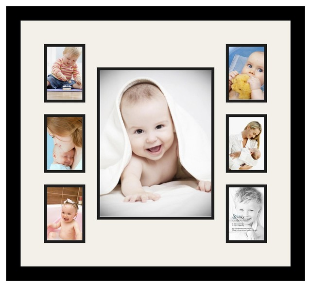 ArtToFrames Collage Photo Frame with 7 Openings - Contemporary ...