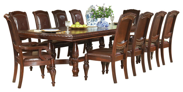 Steve Silver Antoinette 11 Piece Dining Room Set With Leaf