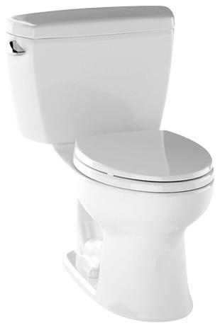 Toto Drake 2 Piece Toilet With 10 Rough In And Elongated Bowl