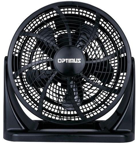 "Black 12"" Fan Turbo High Performance Air Circulation."