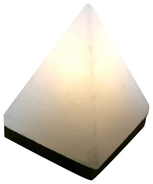 So Well Fair Trade Himalayan Salt Crystal Pyramid Lamp - Contemporary - Table Lamps - by Solay ...