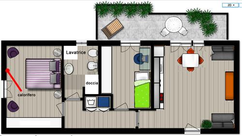 Creare Bagno in camera matrimoniale (3 mq?)+progetto 2
