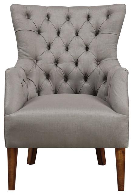 Emerald Home Scholar Accent Chair, Cedar.