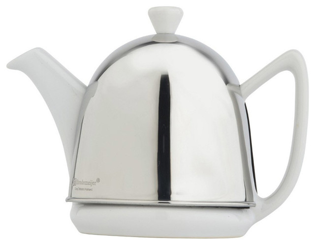 Bredemeijer ceramic and stainless steel cosy manto teapot - Cup stainless steel teapot ...