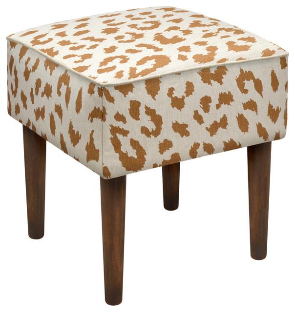 cheetah modern vanity stool contemporary vanity stools