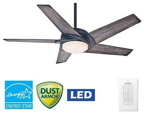 Stealth Ceiling Fan With Light Wall Control 54 Transitional Fans By Better Living
