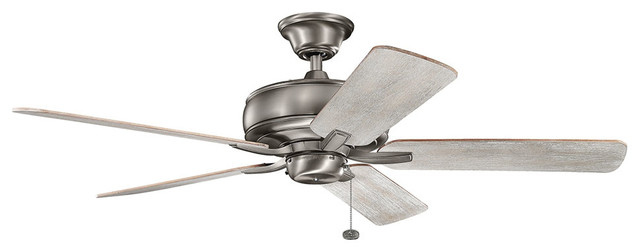 "Kichler 330247 Terra 52"" Indoor Ceiling Fans With 5 Blades"