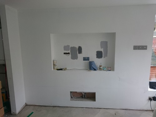 Tv Cabinet Under Wall Mounted Tv