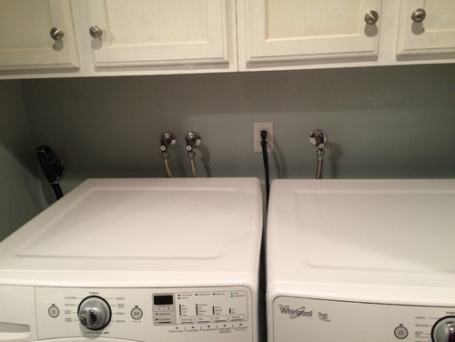 How Can I Hide My Laundry Room Plumbing