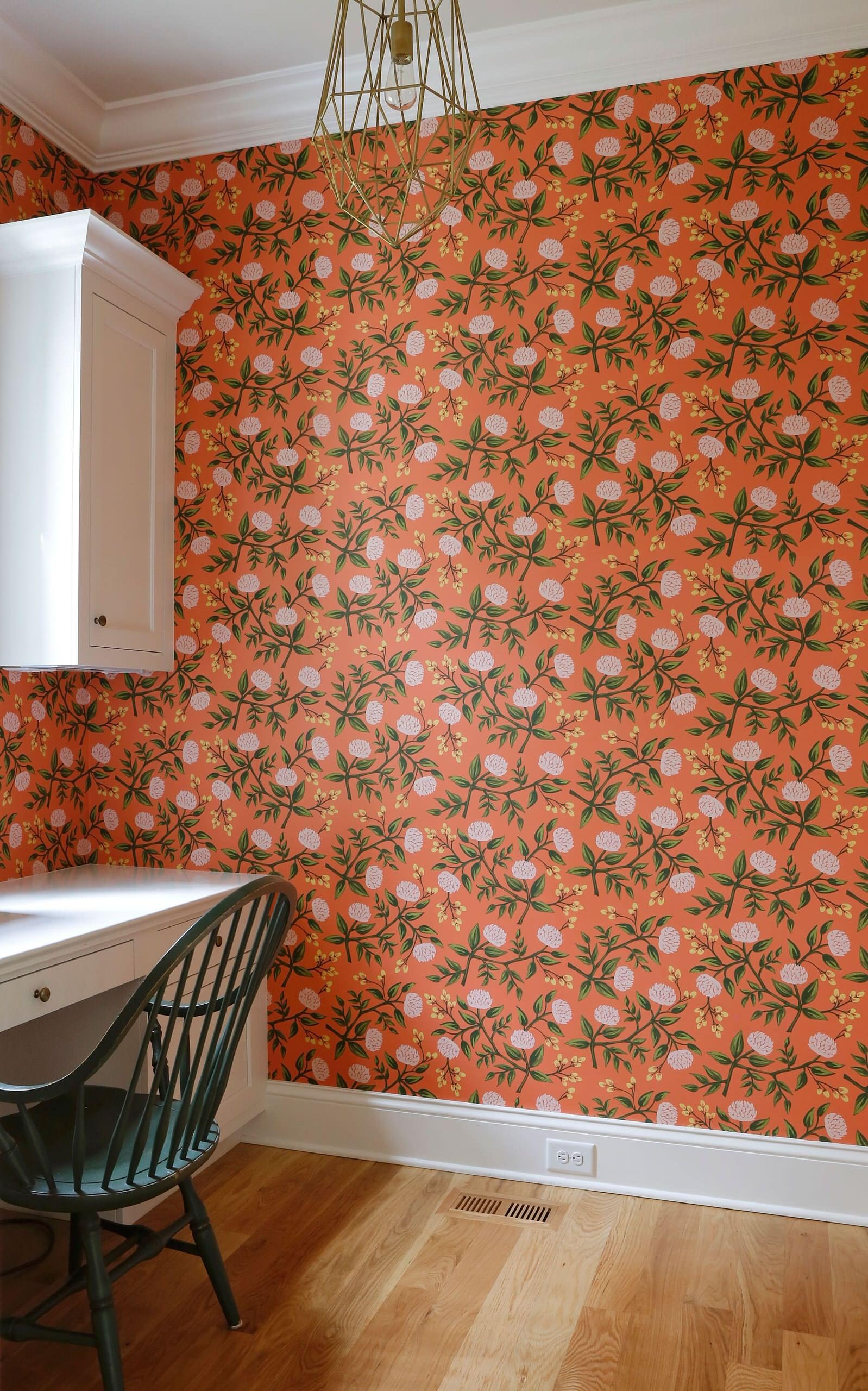 Happy Orange Wallpaper