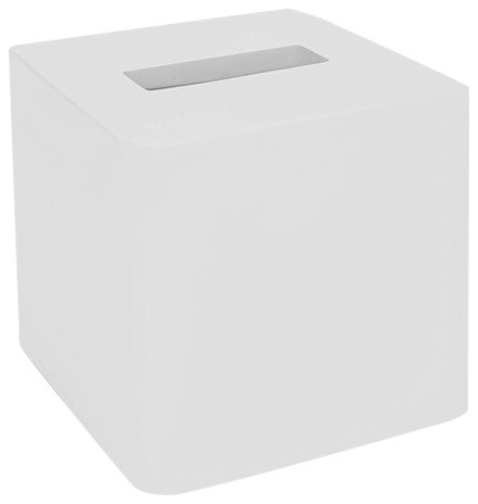Lacca White Lacquer Tissue Holder Contemporary Tissue Box Holders By Hudson Vine Houzz