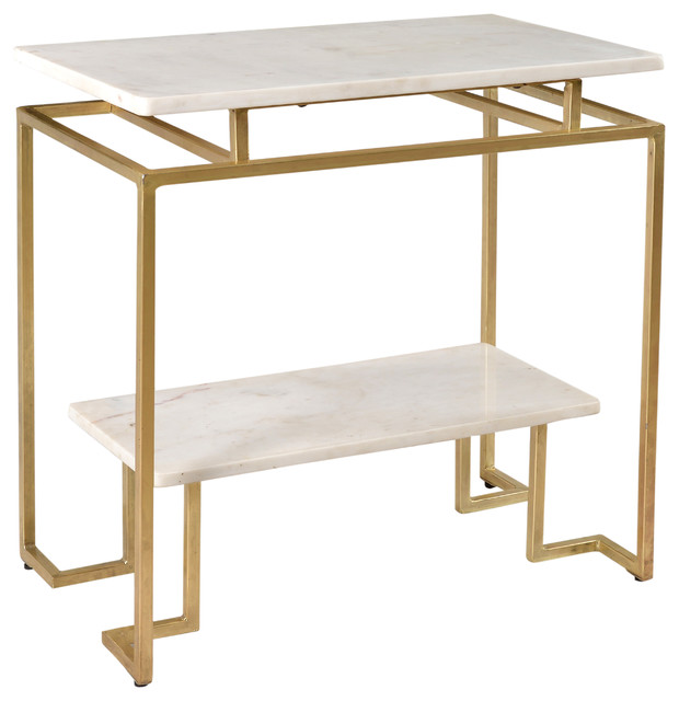 Accent Table, Vendar Burnished Gold
