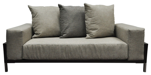 Solis Nubis Loveseat For Indoor And Outdoor, Deep Seated.